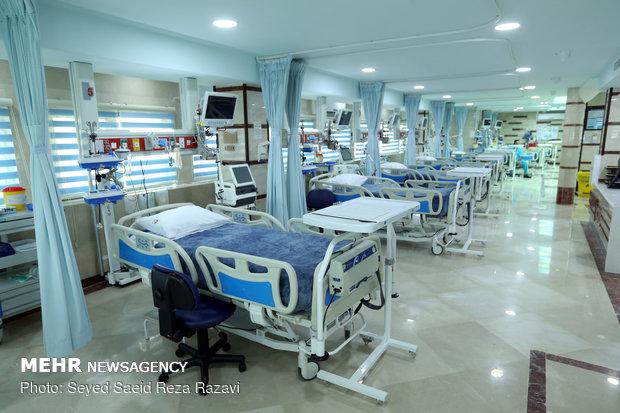 افتتاح بخش ICU3 بیمارستان ساسان