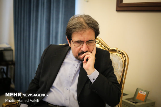 FM spokesman sits down for interview with MNA
