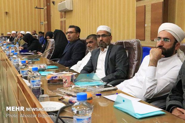 ششمین دوره همایش علما و روحانیون اهل سنت استان فارس