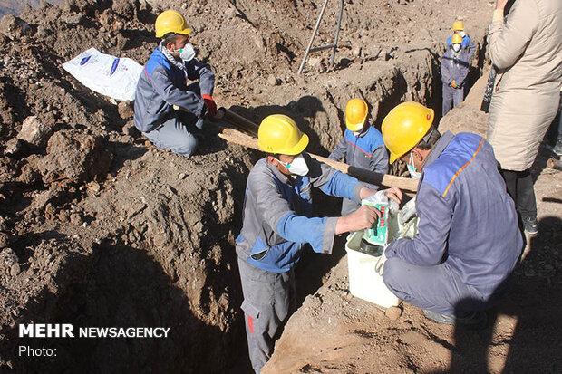 آغاز عملیات گازرسانی به ۳۶ روستای منطقه «آبسرده» لرستان