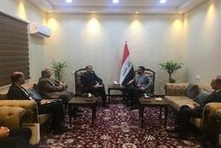 عبداللهيان يلتقي مع مسؤولين عراقيين