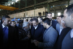 500,000-ton rebar plant launched in Hamedan province