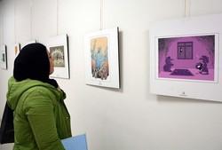 نمایشگاه کارتون «پایان یک داعش» در تبریز گشایش یافت