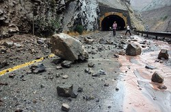 ۱۶۰ جاده روستایی در چهارمحال و بختیاری دچار خسارت شده است