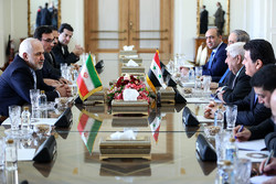 Zarif's meeting with Syrian counterpart