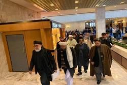 آغاز نشست صلح افغانستان با حضور نمایندگانی از کابل و طالبان در مسکو