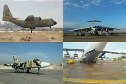 Five aircraft overhauled at Shahid Doran airbase