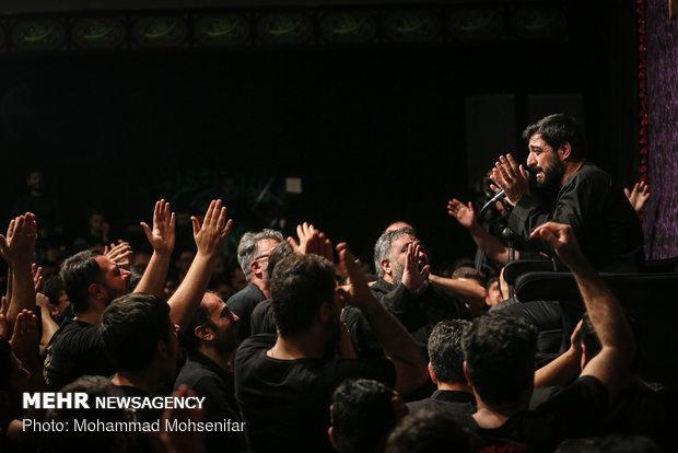 عزاداراي ايام فاطميه در هيئت ريحانة الحسين