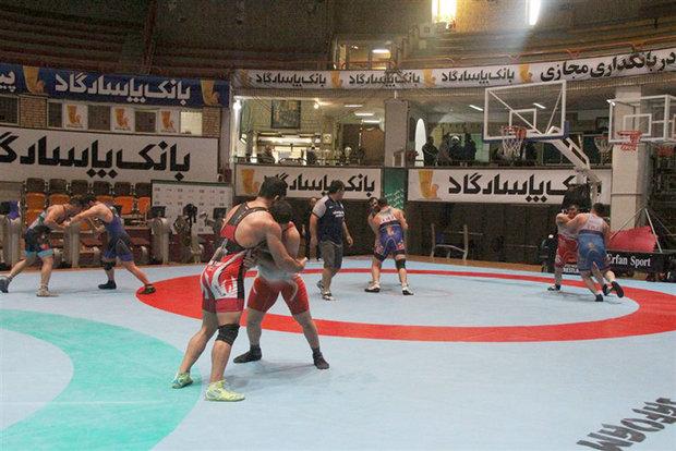 الإعلان عن أسماء لاعبي المنتخب الإيرانية للمصارعة الرومانية لألعاب كازاخستان الدولية