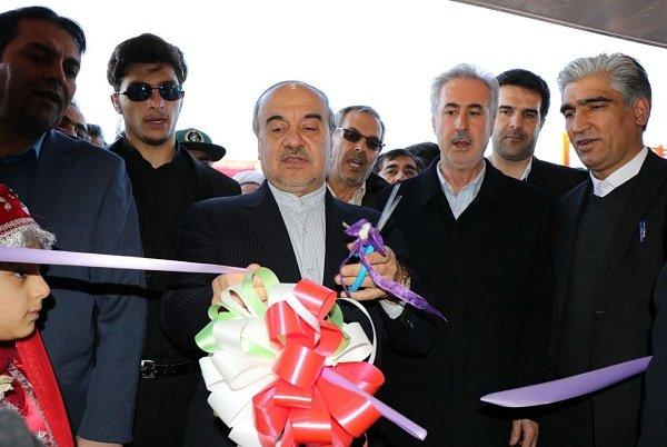 افتتاح پایگاه چند منظوره مدیریت بحران ملکان با حضور وزیر ورزش