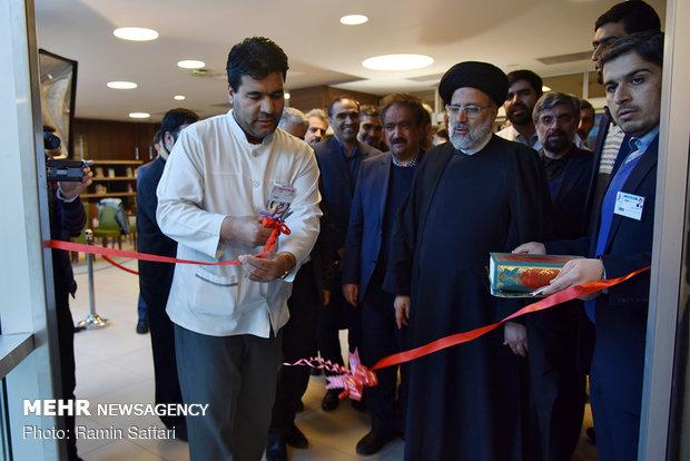 افتتاح طرح های بهداشتی درمانی آستان قدس رضوی