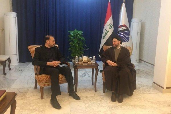 قدردانی عمار حکیم از نقش مثبت و سازنده تهران در حمایت از عراق