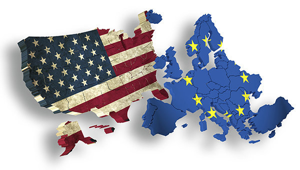 Business disorder between Europe and U.S.