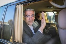 وزیر نیرو وارد کهگیلویه و بویراحمد شد/افتتاح پروژه های آب و برق