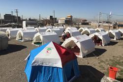 مانور تیم بهداشت و درمان اضطراری در ۵ روستای بوئین زهرا برگزار شد