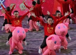 Uzak Doğu'da Çin yeni yılı coşkusu