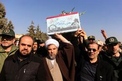 استقبال از پیکر مطهر دو شهید دفاع مقدس در تبریز