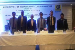 Indian exporters hold meeting in Mumbai to discuss trade with Iran