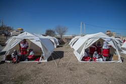 توضیحات هلال احمر درباره حواشی پیرامون توزیع چادر درمناطق سیل زده