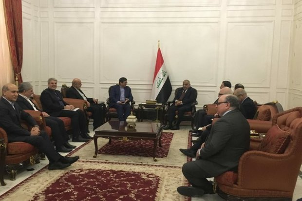 CBI governor, Iraqi PM discuss boosting financial coop.
