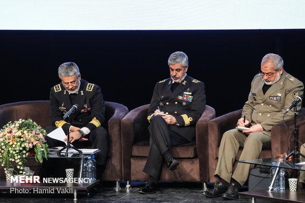 Army commanders hold presser in Tehran