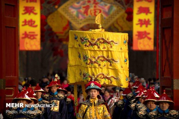 Doğu Asya'da Çin yeni yılı coşkusu