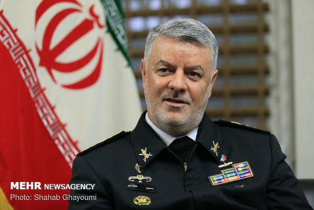گفتگو با حسین خانزادی فرمانده نیروی دریایی ارتش