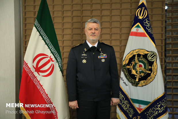 حسین خانزادی فرمانده نیروی دریایی ارتش