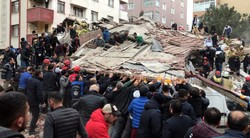 Death toll rises to 17 in residential building collapse in Istanbul