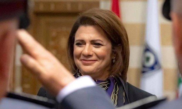 عرب دنیا کی پہلی خاتون وزیر داخلہ نے لبنان میں اپنا عہدہ سنبھال لیا