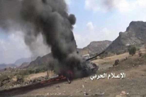 Suudi komutanı taşıyan araç infilak etti