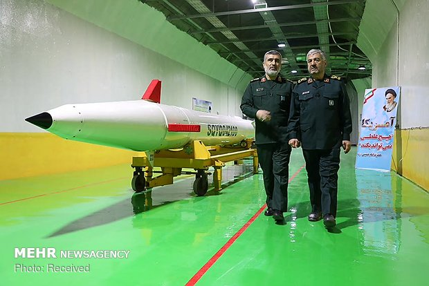 IRGC unveils underground ballistic missile factory for 1st time