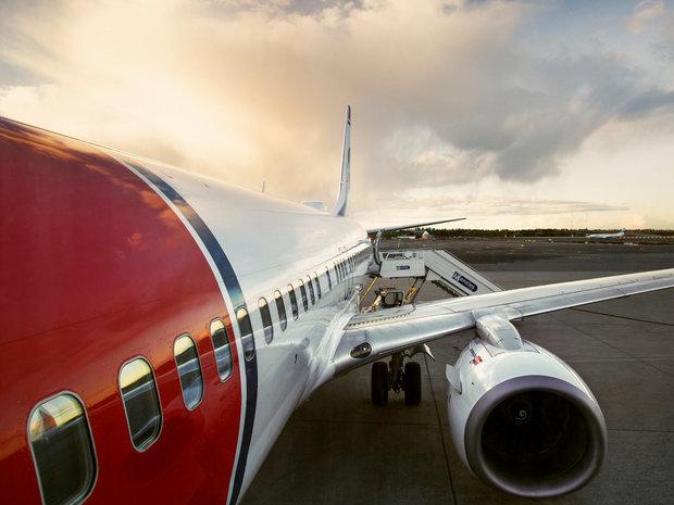 تخلیه مسافران یک هواپیمای نروژی به دلیل تهدید بمب گذاری