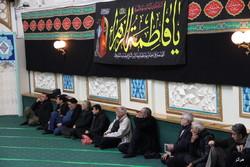 مراسم سوگواری ایام شهادت حضرت فاطمه زهرا(س) در مرکز اسلامی انگلیس