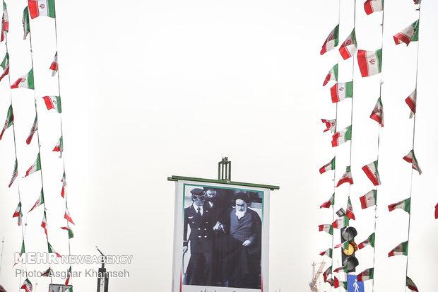 Tehran getting ready for Feb. 11 demonstrations