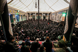 عزاداری شهادت حضرت زهرا (س) در حسینیه سادات اخوی