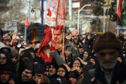 مسيرات العزاء بمدينة مشهد في ذكرى استشهاد السيدة فاطمة الزهراء (س) / صور