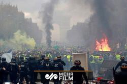آغاز سیزدهمین هفته اعتراضات در فرانسه