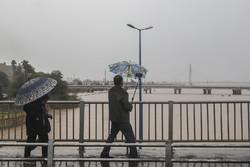بارش های پراکنده در خوزستان ادامه دارد