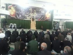مراسم سالگرد شهادت حضرت زهرا (س) در کرمانشاه برگزار شد