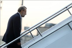 Larijani leaves Tehran for Beijing