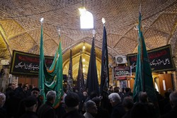 Mourning ceremony of Hazrat Fatemeh (SA) in Tabriz bazaar
