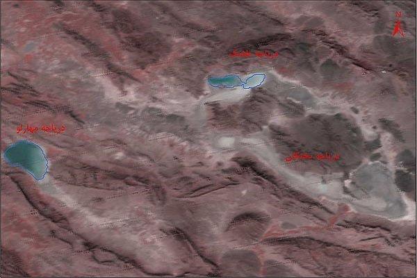 پایش ماهوارهای ۳ دریاچه جنوبی کشور/ «بختگان» خشک شد