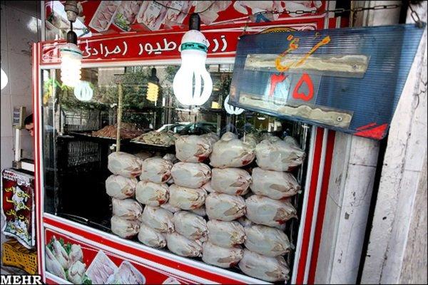آغاز عرضه مرغ ۱۸ هزار و ۵۰۰ تومانی در میادین تره بار و فروشگاهها