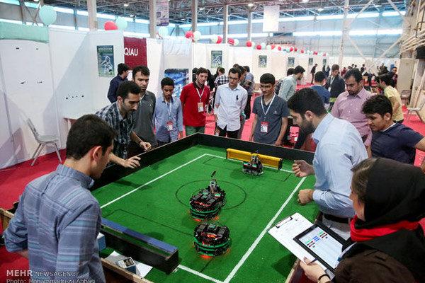 نخستین دوره مسابقات بین المللی رباتیک در کیش آغاز شد