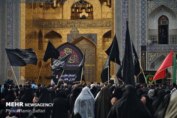 مسيرات العزاء بمدينة مشهد في ذكرى استشهاد السيدة فاطمة الزهراء (س)