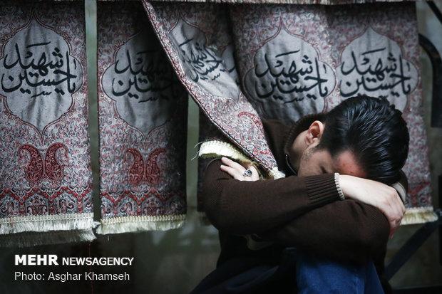عزاداري شهادت حضرت زهرا (س) درامامزاده قاضي الصابر