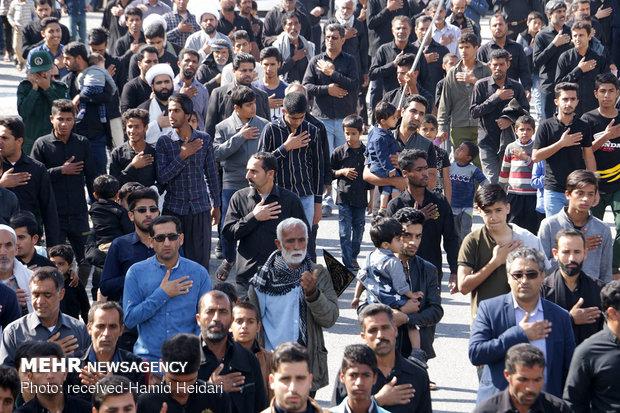 İran'ın güneyinde geleneksel matem töreni