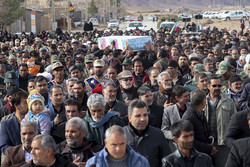 تشييع جثامين الشهداء المدافعين عن أمن البلاد في إصفهان