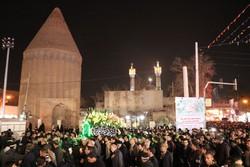 تشییع نمادین حضرت زهرا(س) در ورامین